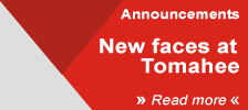 Announcement: New faces at Tomahee